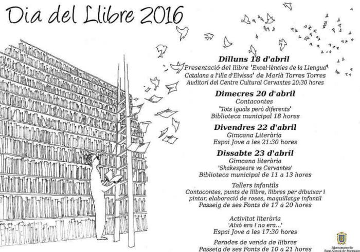 Gincanas y talleres por el Día del Libro