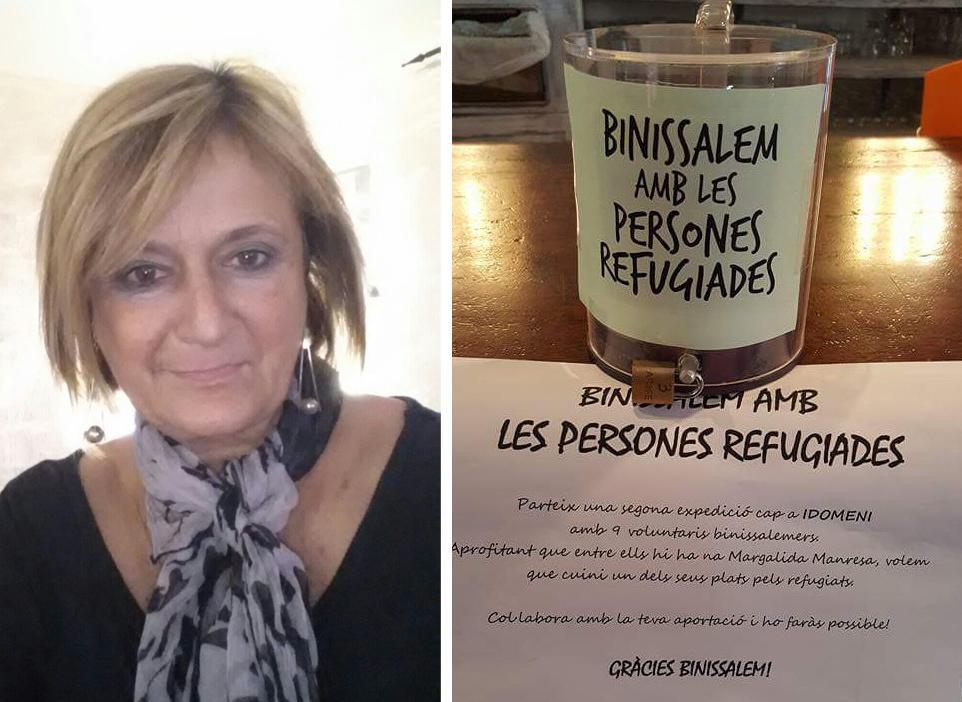 Binissalem con los refugiados