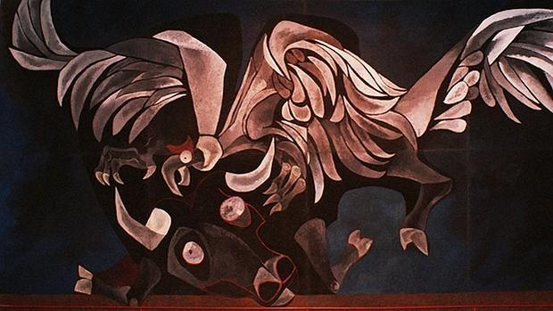 'Toro y cóndor' de Oswaldo Guayasamín