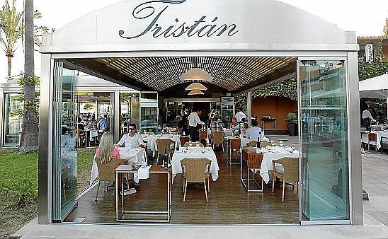 Imagen de archivo del restaurante Tristán.