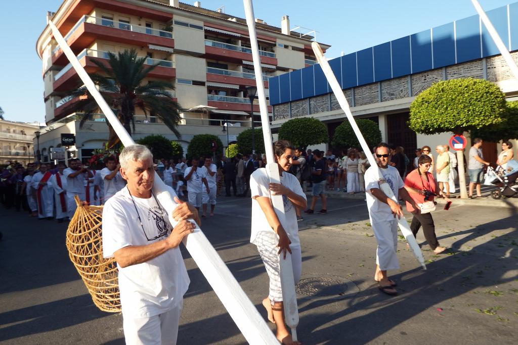 La procesión marinera del Port de Alcúdia se inició en la iglesia.