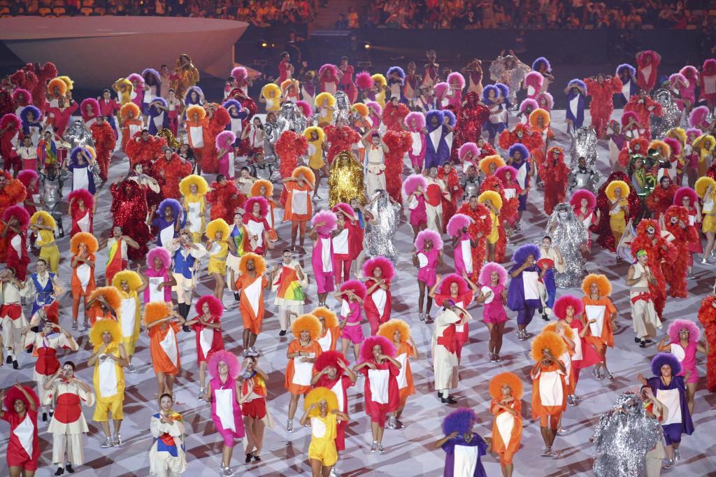 Ceremonia de inauguración de los Juegos de Río 2016