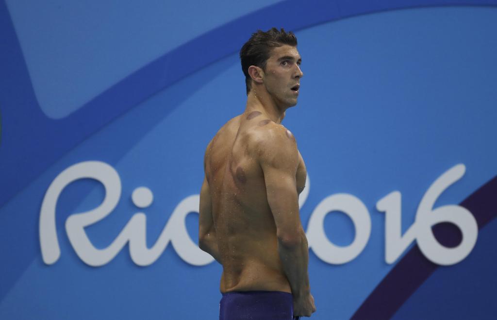 Los círculos rojos de Phelps