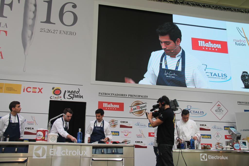 Andreu Genestra cocinero
