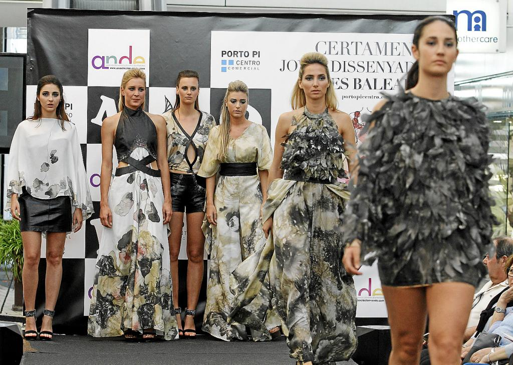 Los seis looks de la colección ganadora de la joven Carla García.