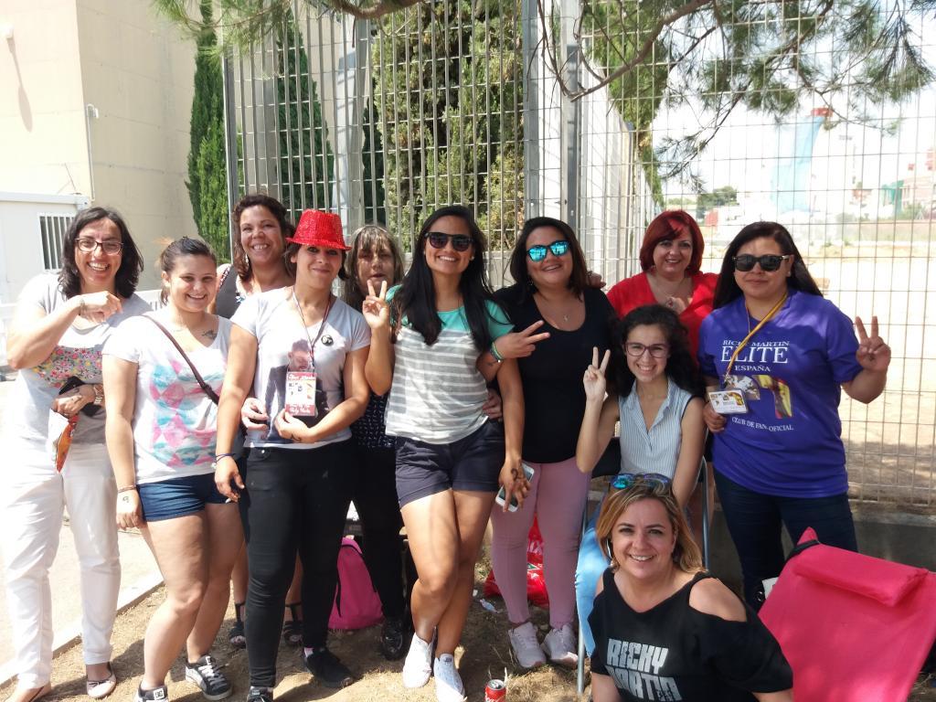 Fans de Ricky Martin