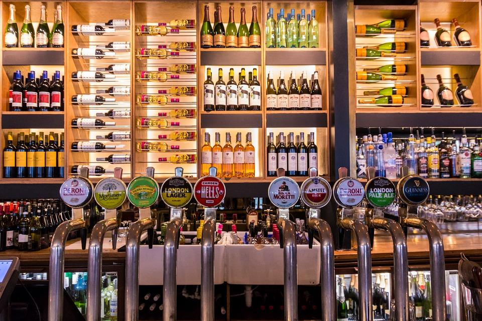 Cerveza en un pub
