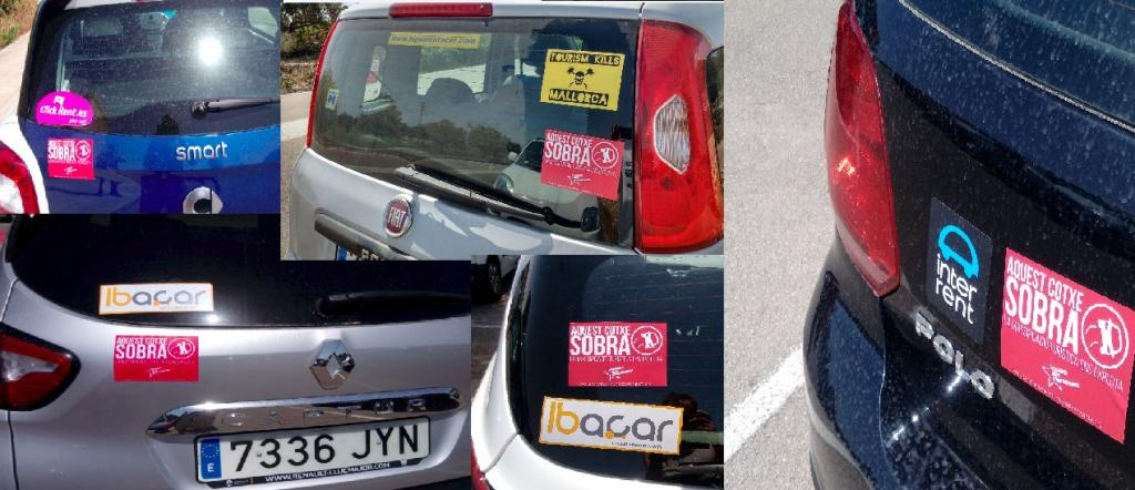 «Sobran» coches de alquiler en Mallorca, según Endavant.