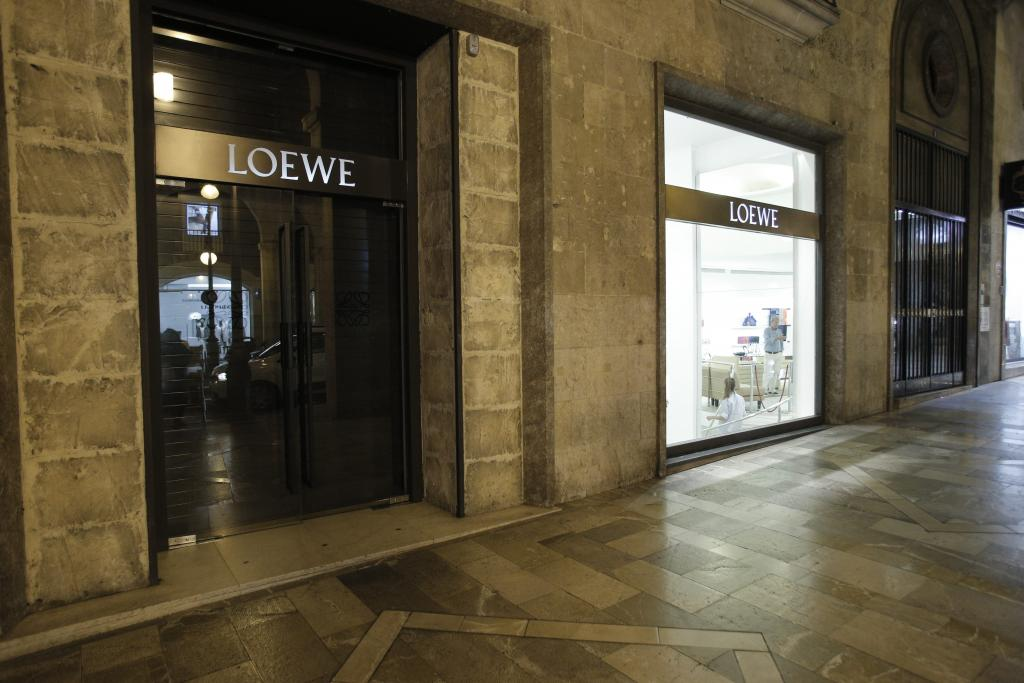 Loewe cierra su tienda en Palma de Mallorca