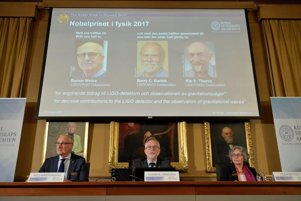 Ganadores del Nobel de Física