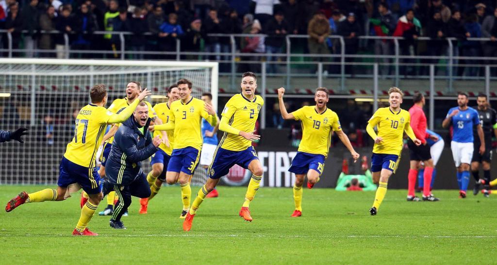 Italia empata 0-0 contra Suecia y no estará en el Mundial de Rusia 2018