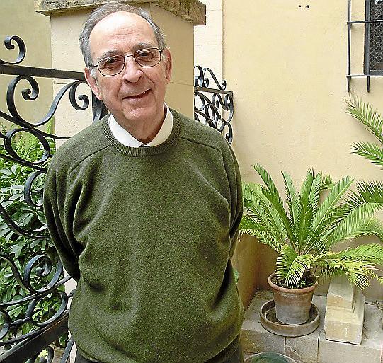 PALMA - JOSEP JAUME CAÑELLAS PARROCO DE LA IGLESIA DE SANTA CREU DE PALMA