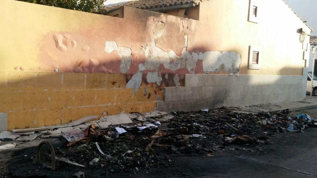El pir mano de los contenedores act a de nuevo en ciudad for Ciudad jardin ibiza