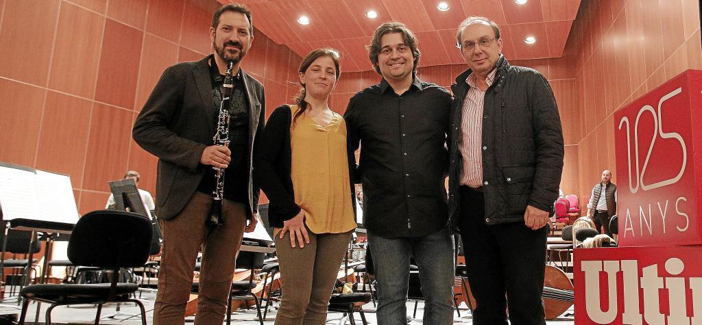 Paulino Martínez, Maia Planas, Pablo Mielgo y Smerald Spahiu