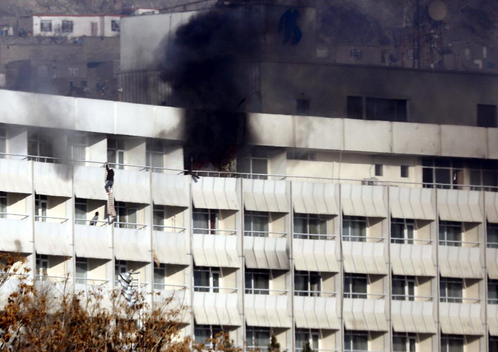 Armed attack on Interncontinental Hotel in Kabul