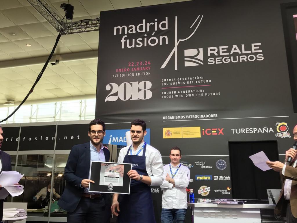 Lluís Pérez, premio Pastelero Revelación