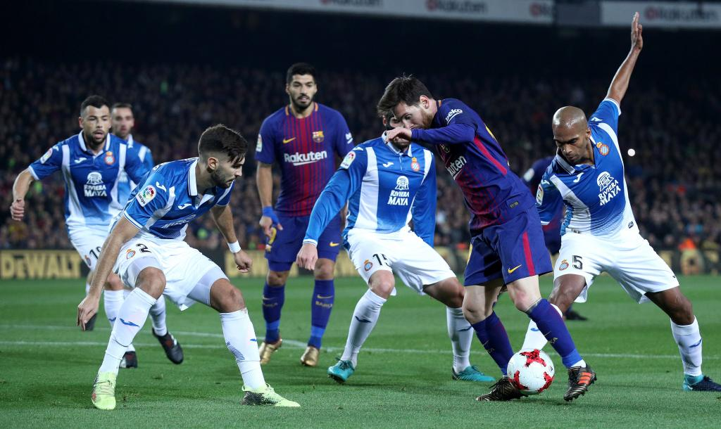 Spanish King's Cup - Quarters Final Second Leg - FC Barcelona vs Espanyol