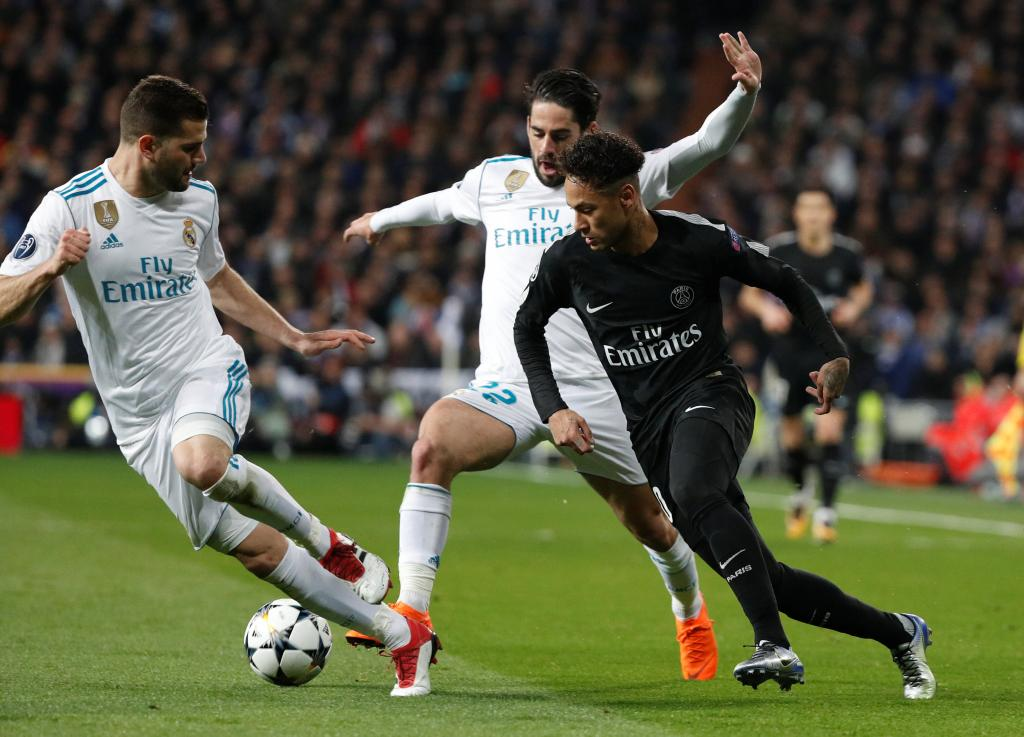 Champions League Round of 16 First Leg - Real Madrid vs Paris St Germain
