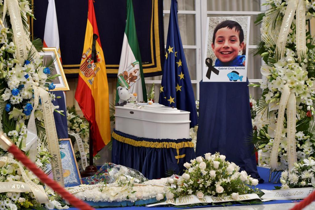 CAPILLA ARDIENTE DEL NIÑO GABRIEL CRUZ EN ALMERÍA