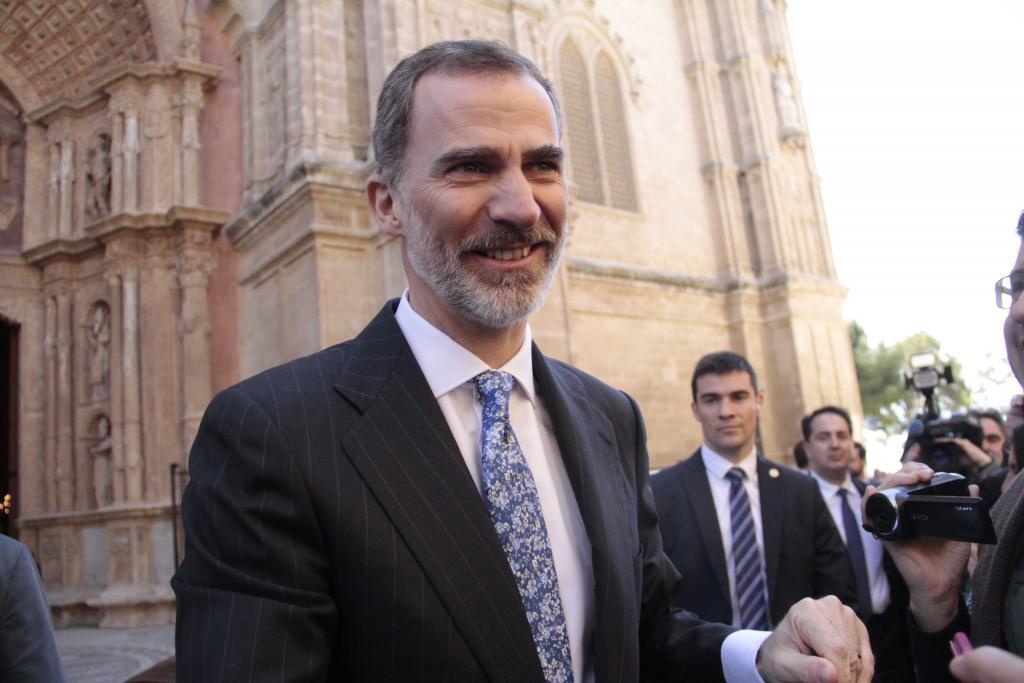 PALMA DISCRETO UH ASISTENCIA REYES A LA MISA DE PASCUA FOTOS : PILAR