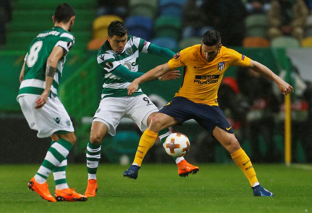 Europa League Quarter Final Second Leg - Sporting CP v Atletico Madrid