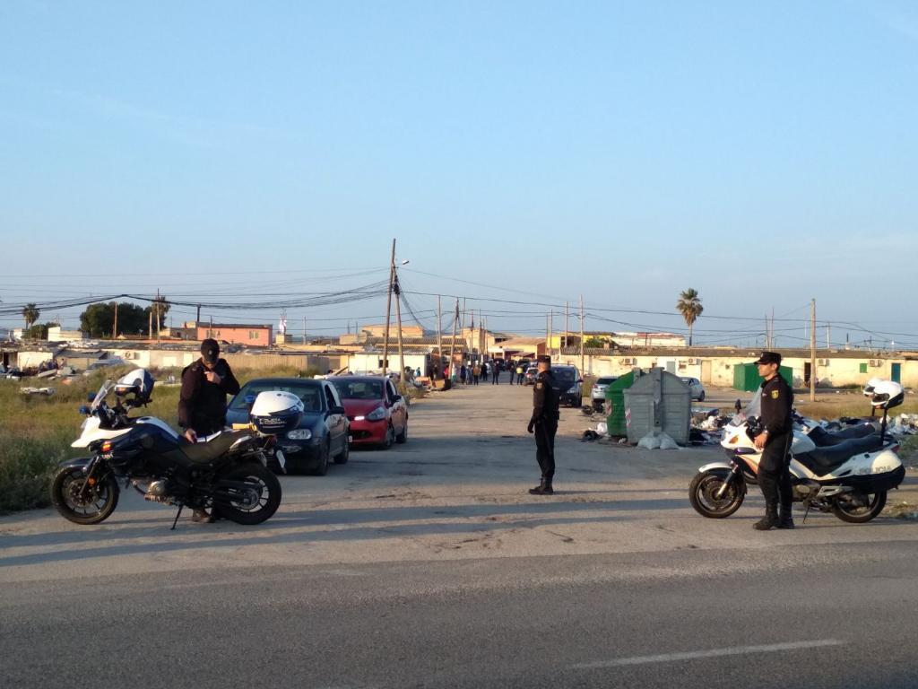 Operación policial en Son Banya y otras barriadas de Palma contra el menudeo