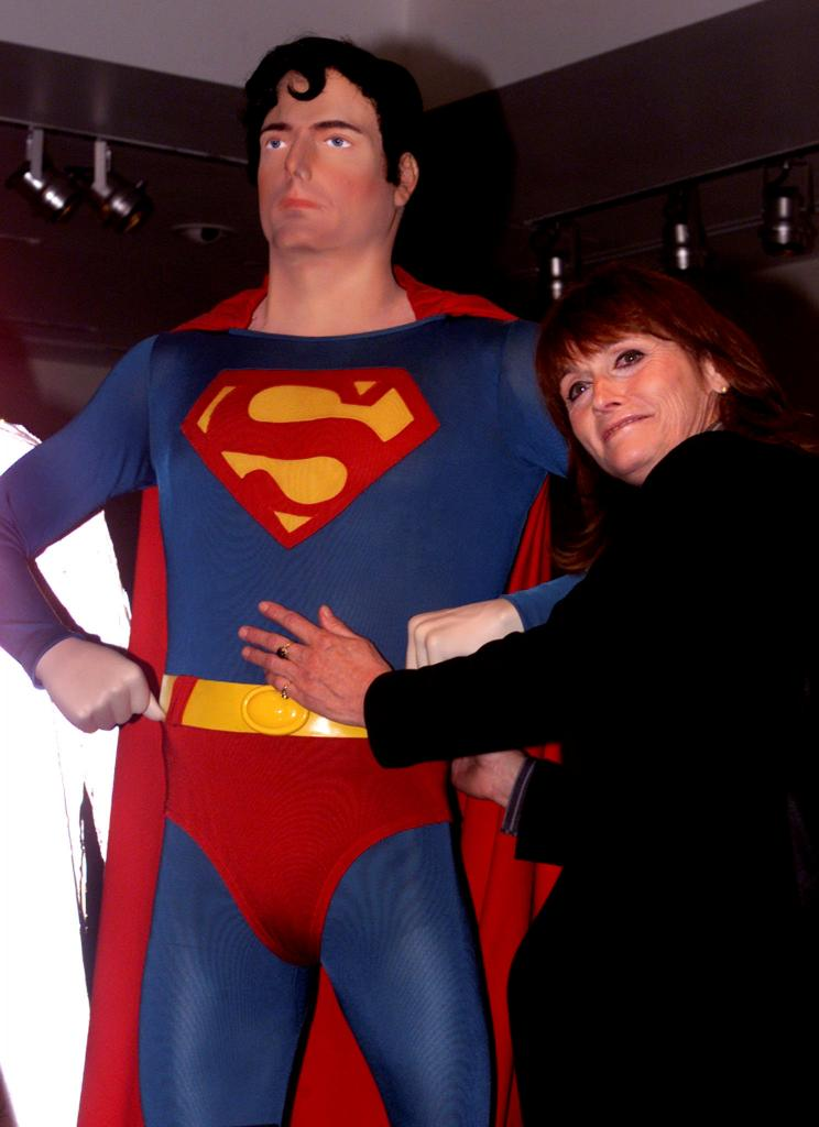 FILE PHOTO: Actress Kidder appears at the Superman movie reunion at the Warner Bros. museum in Burbank