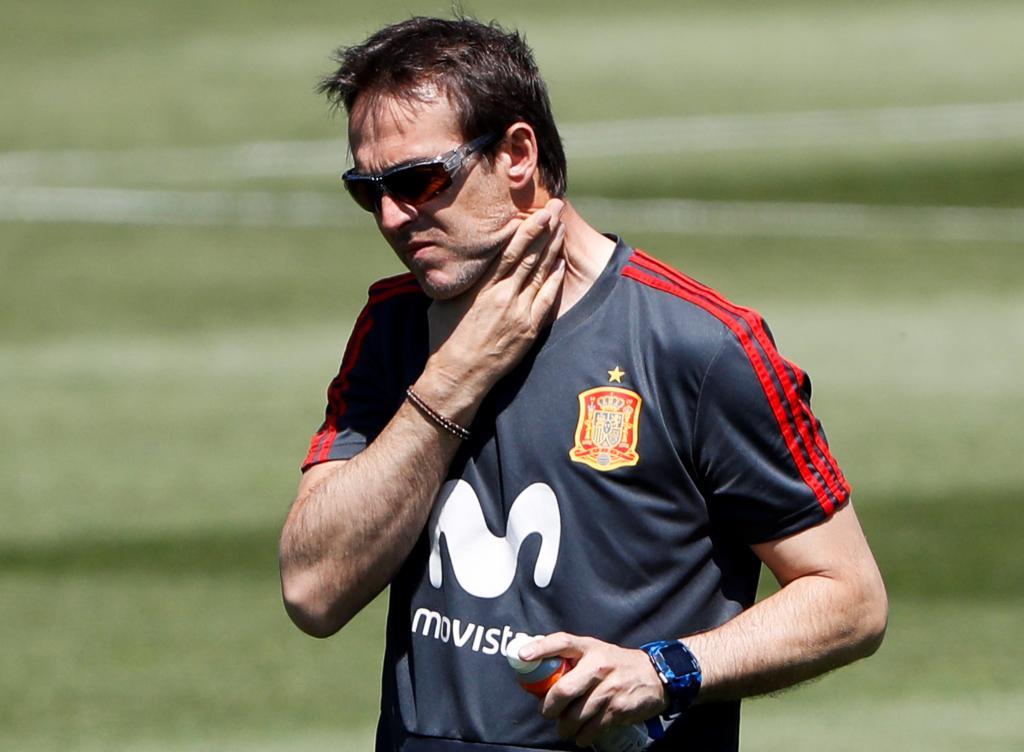 Julen Lopetegui, destituido como seleccionador de España