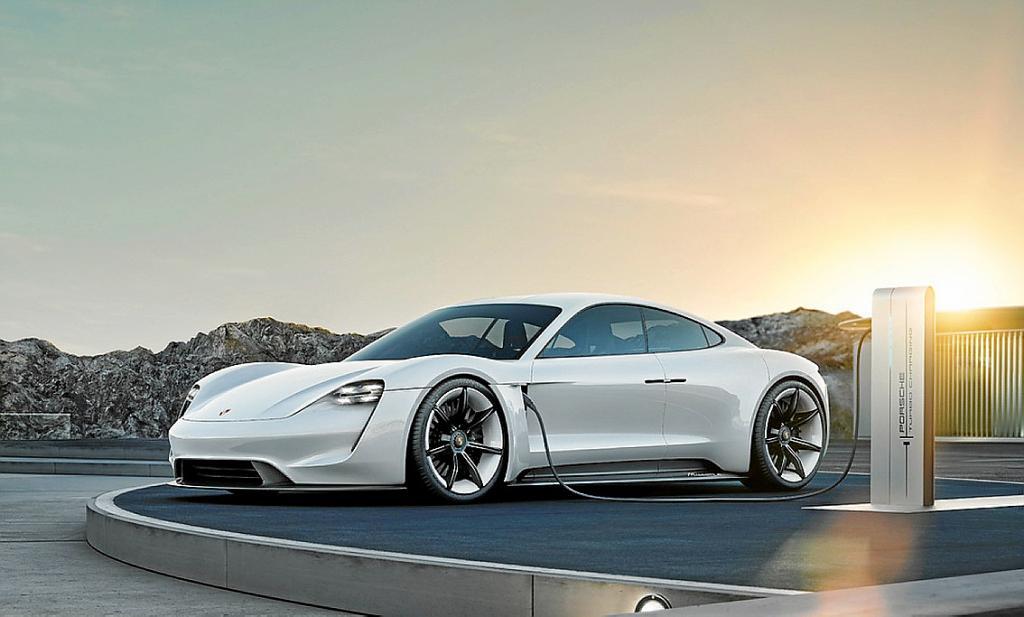 Mission E; el primer deportivo eléctrico concepto de Porsche
