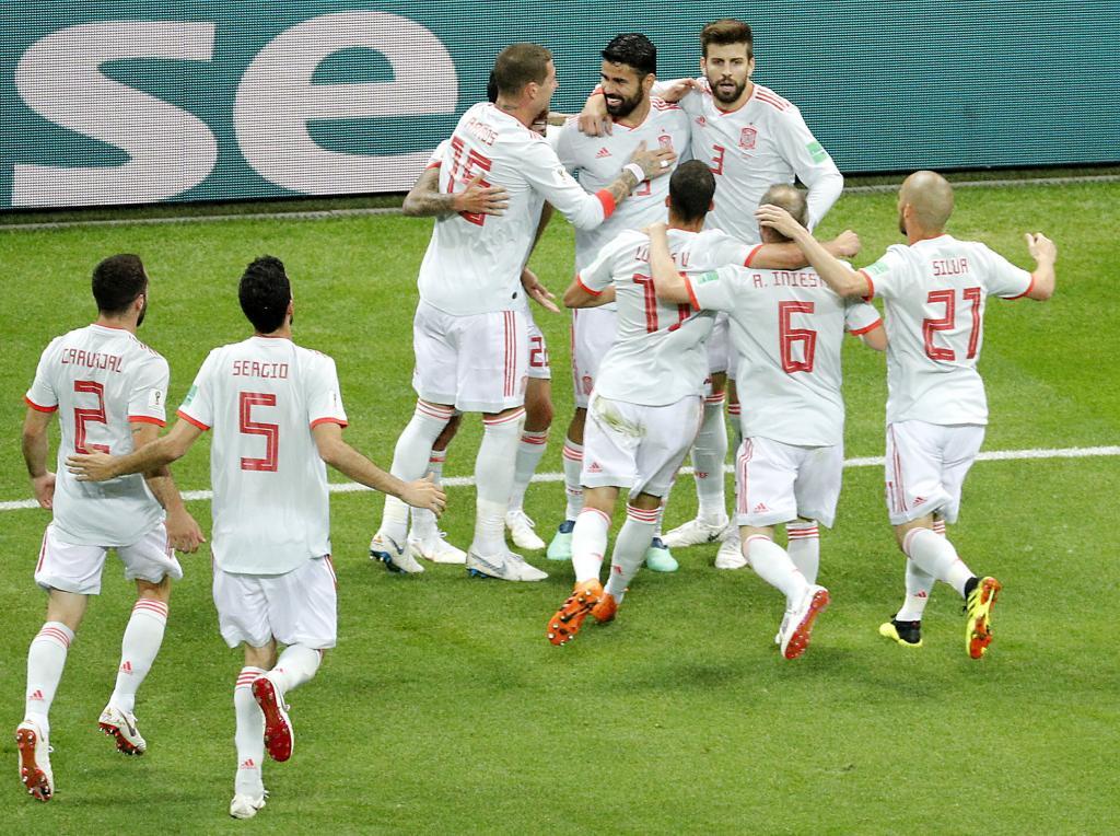 Group B Iran vs Spain