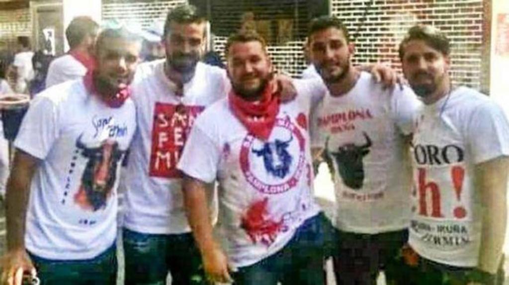 Libertad provisional para los cinco miembros de La Manada