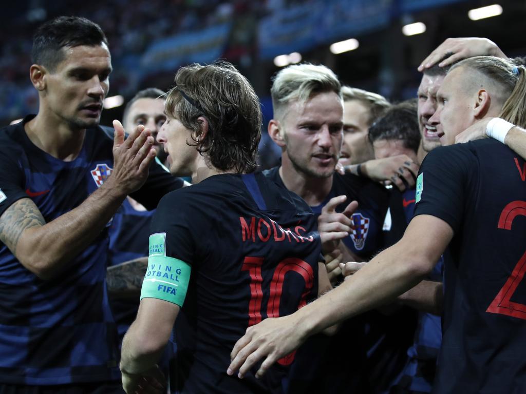 Group D Argentina vs Croatia