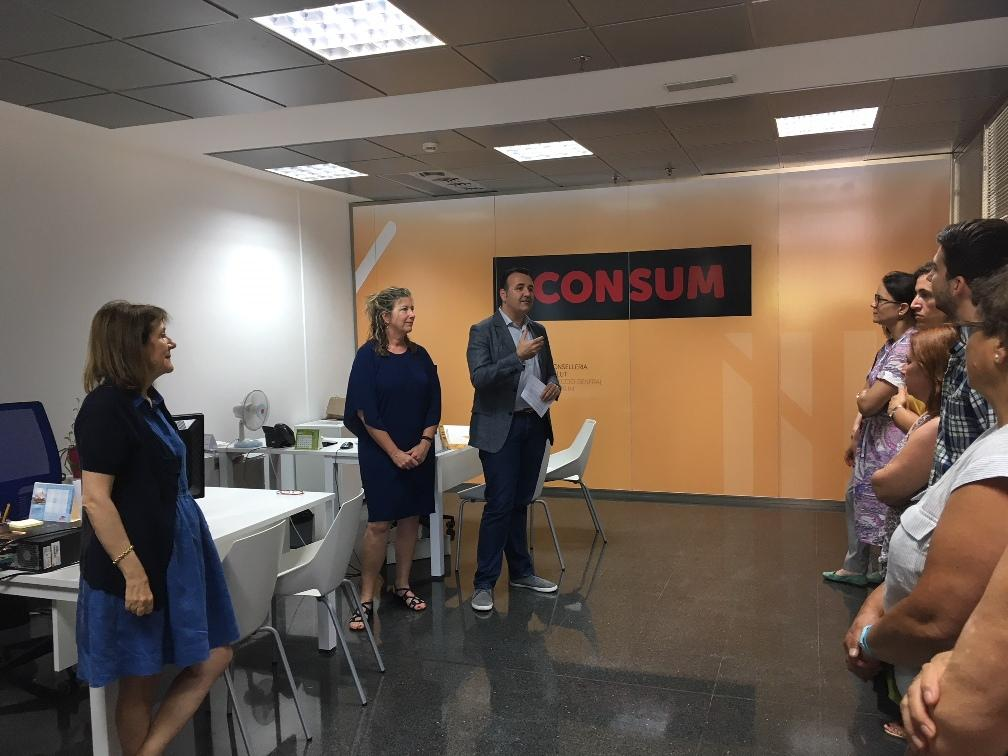 consumo abre una nueva oficina en palma para atender a los