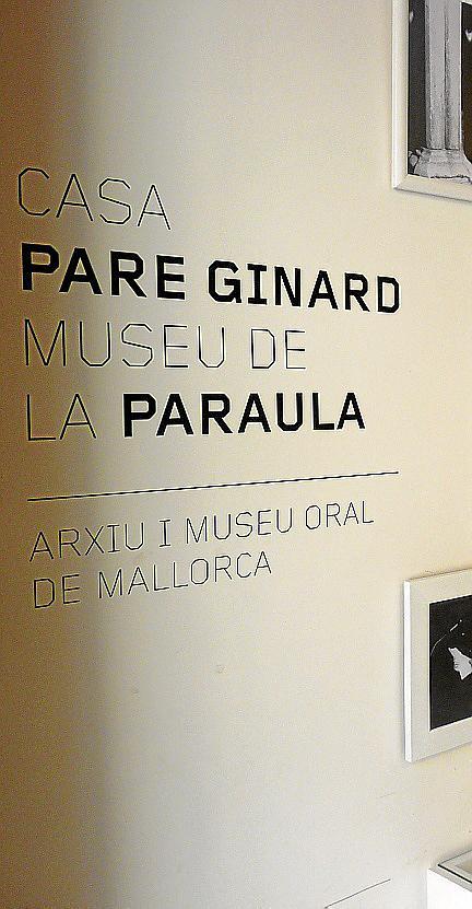 SANT JOAN. MUSEOS. REINAUGURACION DE LA CASA MUSEU PERE RAFEL GINARD DEDICADA AHORA A LA PALABRA.