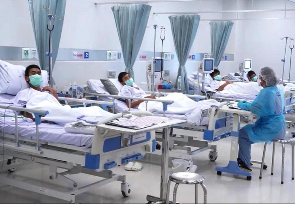 Cuatro primeros menores rescatados en Tailandia recibirán el alta el domingo