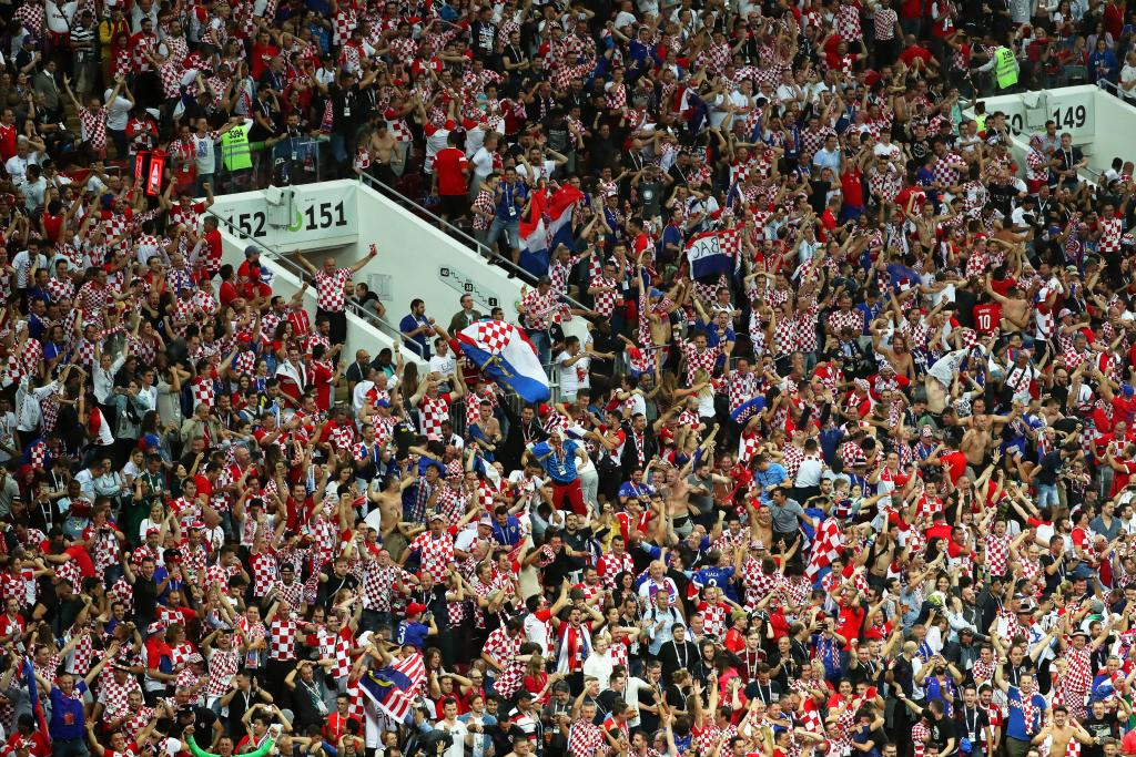 Semi Final Croatia vs England