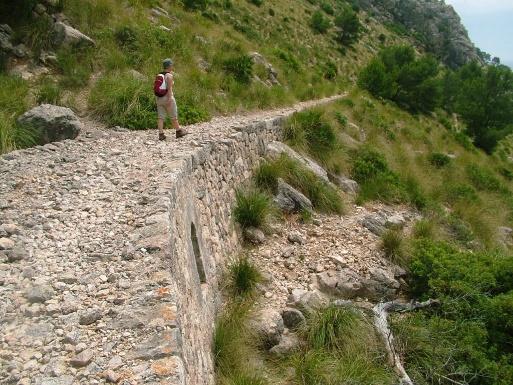 FORMENTOR. CAMINOS. camí Vell del Far de Formentor.