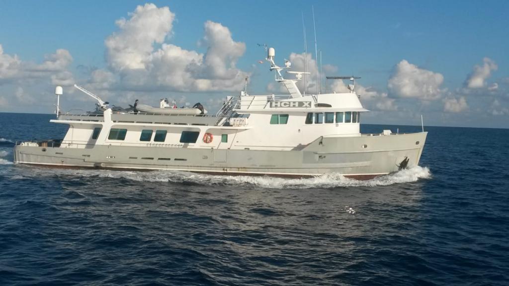 Interceptan un barco con 300 kilos de cocaína en aguas de Baleares