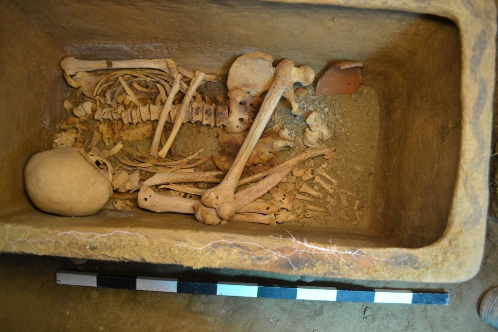 Descubierta una cámara antigua durante unas excavaciones en Ierapetra
