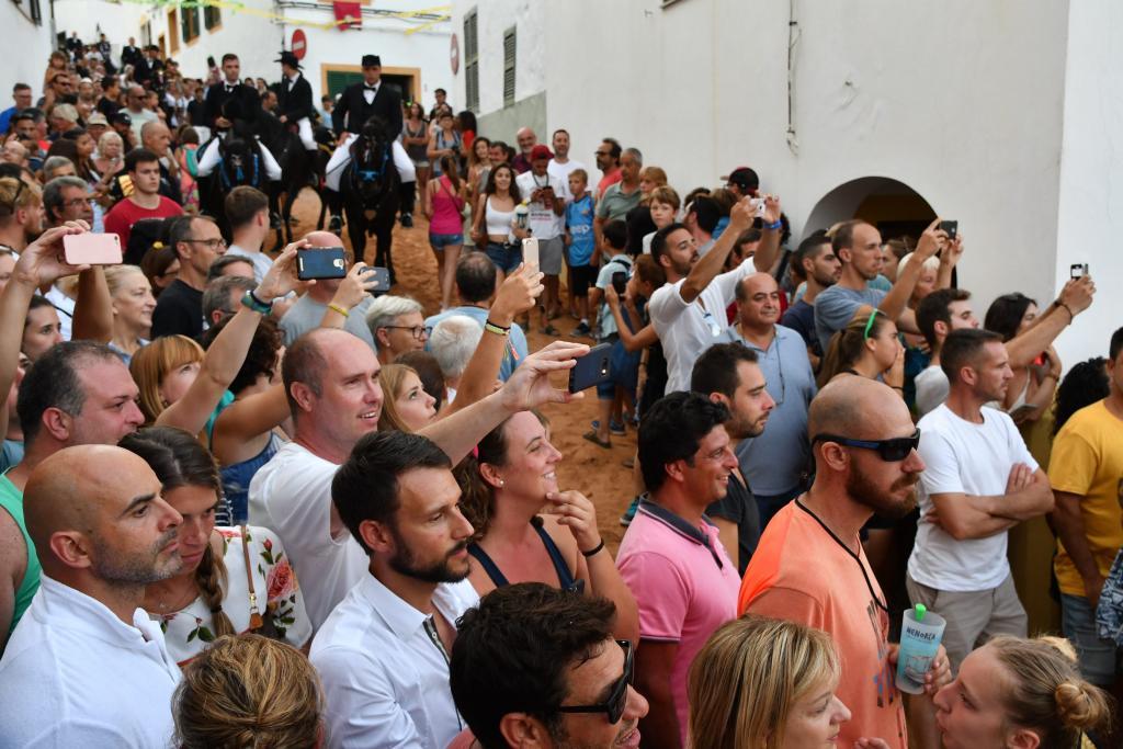 Menorca Ciutadella Festes de Sant Bartomeu FERRERIES. PRIMER JALEO.