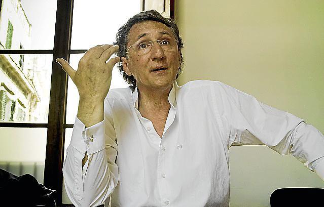 PALMA. ELECCIONES. MIQUEL MUNAR , CANDIDATO DE CONVERGENCIA PER LES ILLES A CORT EN LAS ELECCIONES