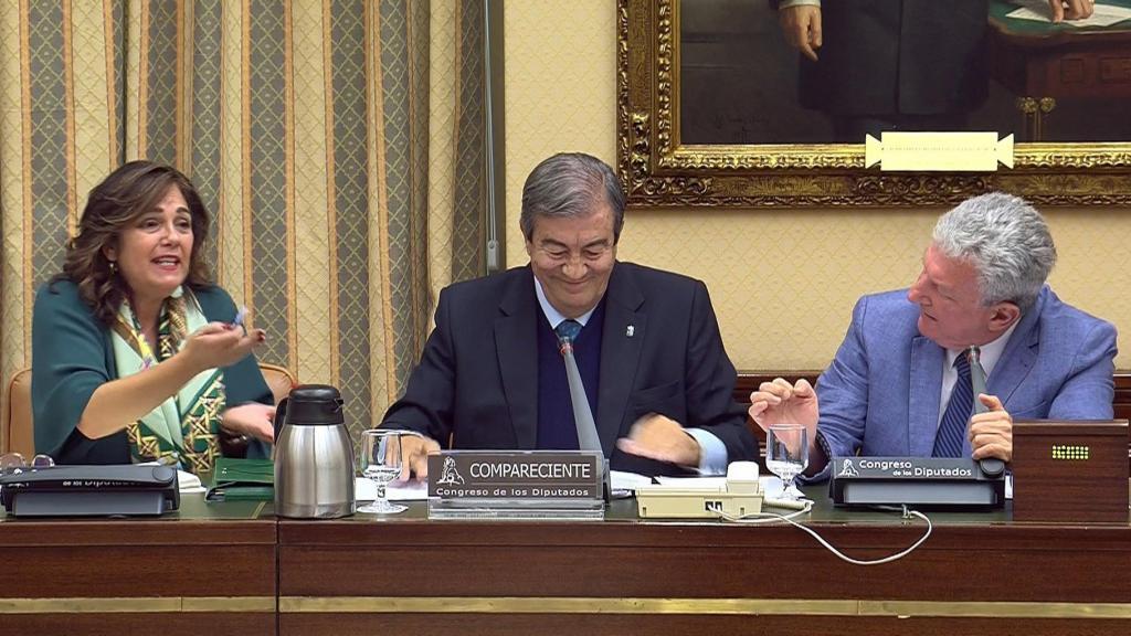El ex secretario general del PP Francisco Álvarez Cascos Comisión de Investigación supuesta financiación ilegal del PP