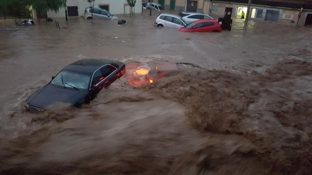 tormenta en Sant Llorenç