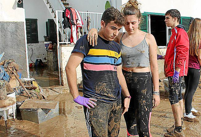 Víctimas de las inundaciones de Sant Llorenç