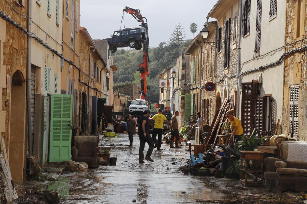 Inundaciones en Sant Llorenç