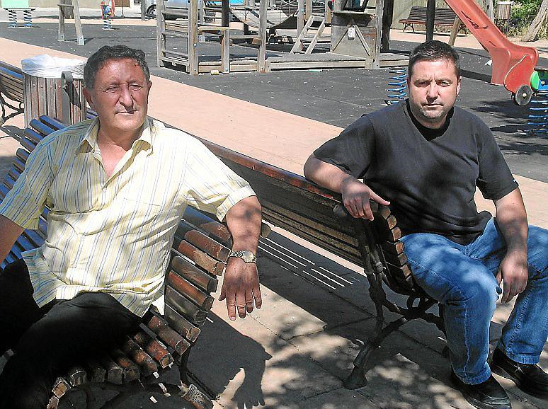 RAfel Gili y Bartomeu Gili, concejales en el Ajuntament de Artà