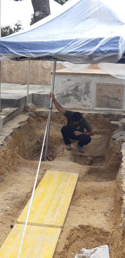 Hallan en la fosa común de Calvià los primeros restos de una mujer represaliada en la Guerra Civil