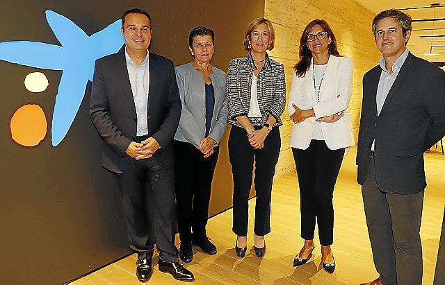 Jordi Nicolau, Carmen Serra, María Cruz Rivera, María Alsina y Pedro Rullán.