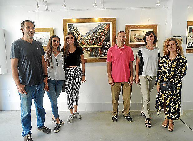 Cati Aguiló expone su obra en Llucmajor