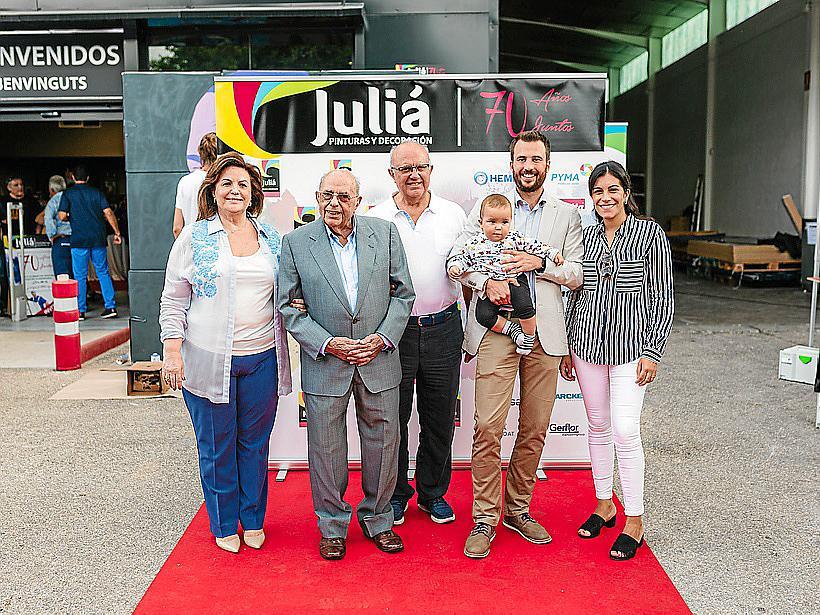Juliá Pinturas y Decoración celebra su 70 aniversario